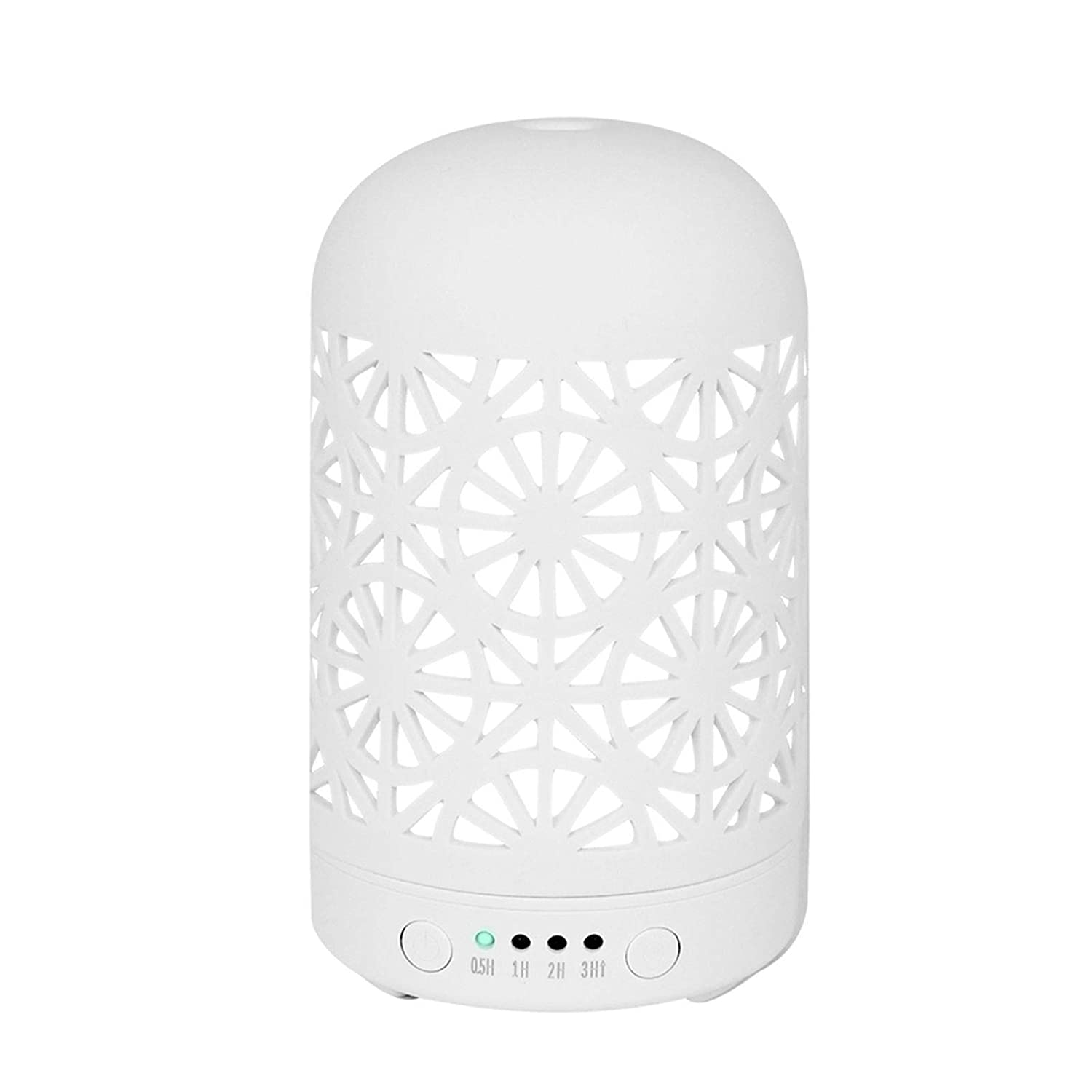 HOMNAS Essential Oil Diffuser Upgraded Today's only Ceramic 100ML Diffusers Discount is also underway