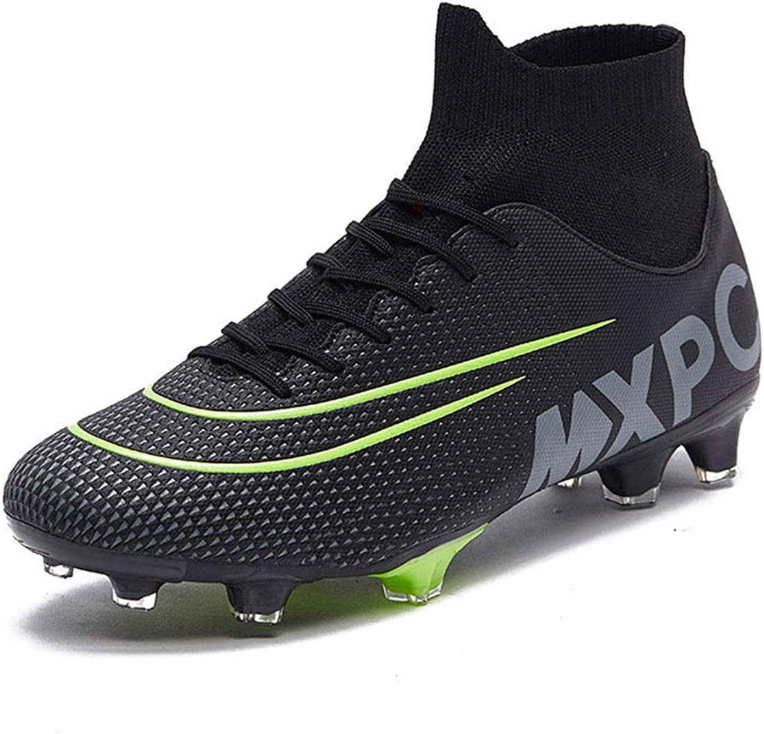 GTY Outlet ☆ Free Shipping Men's Soccer Boots Football Cleats Hightop Super Special SALE held Firm Tr for Shoes