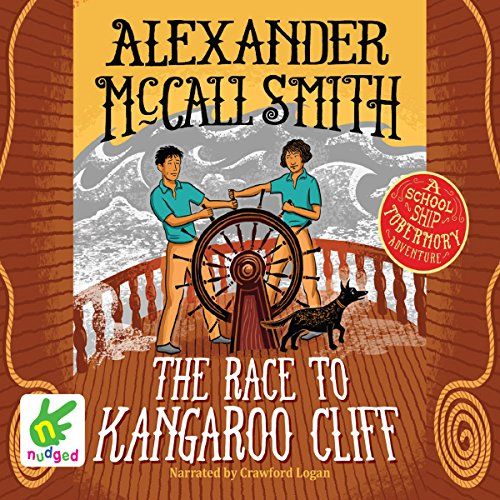 The Race to Kangaroo Cliff audiobook cover art