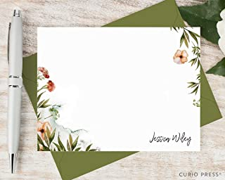 stationary floral