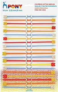 Lesur Double-Point Knitting Needle Set of 4 Pins Size 3.25mm