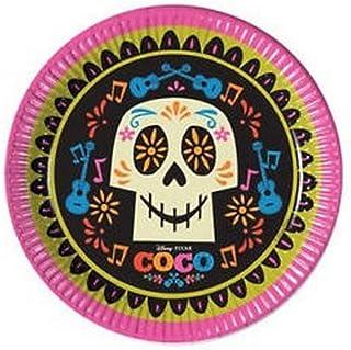 Procos plato 23 cm Coco, Multicolor, 5pr89461