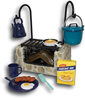 """American Girl Maryellen's Campfire Cooking Set for 18"""" Dolls (Doll Not Included)"""