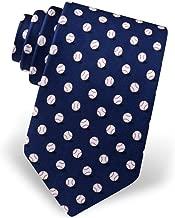 Men's 100% Silk No Hitter Baseball Sports Necktie Tie Neckwear