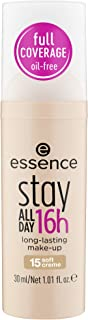 Essence Stay All Day 16H Long-Lasting Make-up Foundation - 15 Soft Creme, 50082