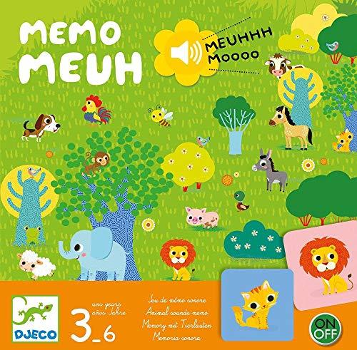 DJECO- Juegos de acción y reflejosJuegos educativosDJECOJuego Memo Meuh,...