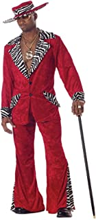 Pimp Purple Crushed Velvet Adult Costume