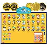 BEST LEARNING i-Poster My Learning Board - Electronic Interactive Educational Talking Alphabet Numbers Music Poster Toy for Kids Boys & Girls 2 3 4 5 6 Years Old Daycare Preschool, multicolour, 4221