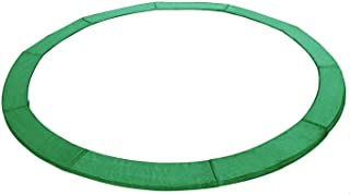 Exacme 10 12 13 14 15 Feet Trampoline Replacement Safety Spring Cover Round Frame Pad, Without Holes, Blue