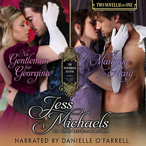 No Gentleman for Georgina/A Marquis for Mary audiobook cover art