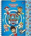 Paw Patrol Libro de Scratch con Plantillas, Pegatinas con Purpurina y lápiz para rascar para casa y Viajes. de TM ESSENTIALS