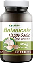 Lifeplan Happy Garlic 300mg 180 Tablets Estimated Price : £ 11,99