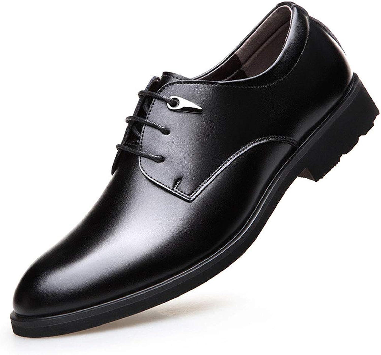 Lace-up men's shoes men's leather business dress casual men's shoes