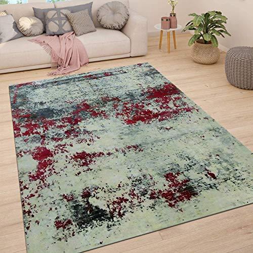 Trend Living 4 U GmbH Teppich Wohnzimmer Kurzflor Handarbeit Loomknotted Printed Samarkand 170X240cm