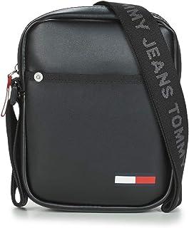 حقيبة كتف صغيرة كول سيتي مصنوعة من البولي يوريثان للرجال من تومي جينز، لون اسود - موديل AM0AM06149