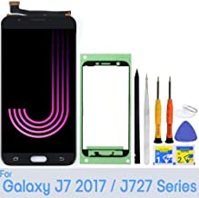 for Samsung Galaxy J7 Screen Replacement LCD Display Touch Digitizer Assembly (Black) for J727 2017 Prime SM SM-J727 J727P J727U J727T J727T1 J727R4 J727V Sky Pro S727VL S737TL SM-J727A