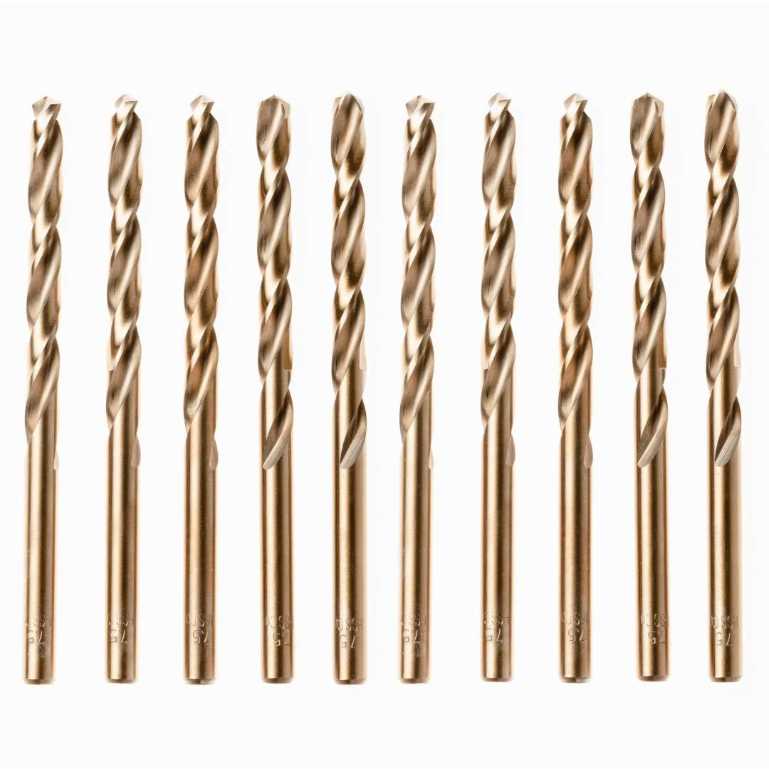 Qty 1 Jobber Drill Bit 6mm Metric Titanium Coated HSS Steel Twist 57mm Flute
