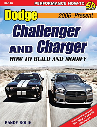 Dodge Challenger & Charger: How to Build and Modify 2006-Present (Performance How-To) (English Edition)