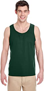 Heavy Cotton Tank Top. 5200 Forest Green