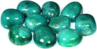 Chrysocolla Howlite Tumble Stone (20-25mm) 10 Pack