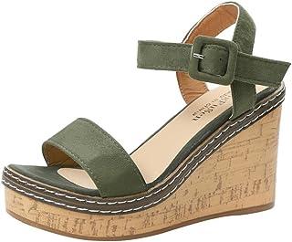 Amazon Mujer Zapatos Para Verano esSandalias 2018 N0vw8mn