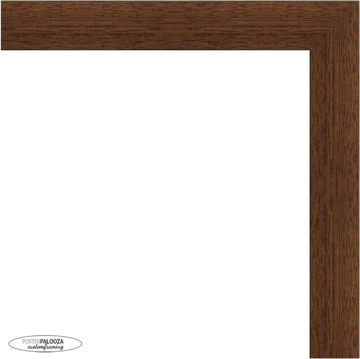 Super popular specialty store 40x13.5 Washington Mall Traditional Walnut Wood Picture Panoramic UV Frame - Acr