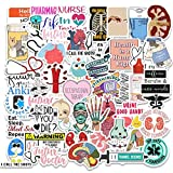 Medical Science Equipment Stickers  Doctor Nurse Stethoscope Waterproof Vinyl Stickers  Human Body Organ Anatomy Map Decals for Water Bottles Laptop Luggage Cup Computer Mobile Phone Skateboard