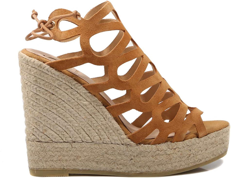 Kanna, 19HV8147 Beige Sandale für Damen