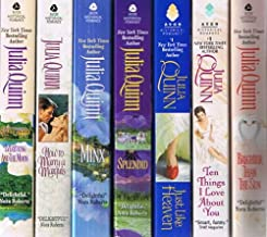 Julia Quinn, 7-Book Collection: Everything and the Moon; How to Marry a Marquis; Minx; Splendid; Just Like Heaven; Ten Thi...