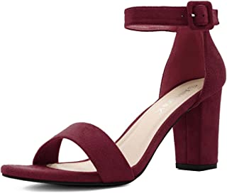 Best wine block heels Reviews