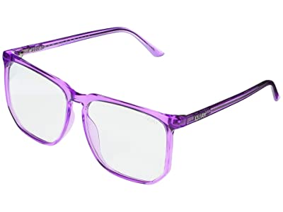 QUAY AUSTRALIA Stranger- Blue Light (Purple/Clear Blue Light) Fashion Sunglasses