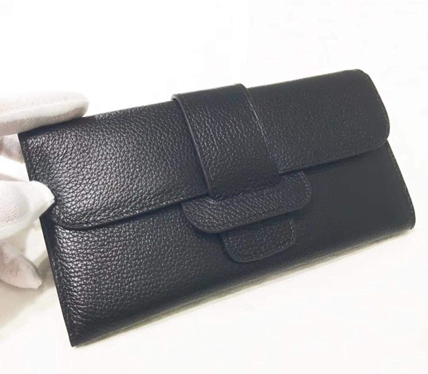 Girls Purse Women's Wallet Buckle Head Leather LargeScale Lady Purse PU Hand Bag