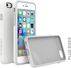 RhinoShield [PlayProof Case for iPhone 6 Plus/iPhone 6s Plus | Heavy Duty Shock Absorbent [High Durability] Scratch Resistant. Ultra Thin. 11ft Drop Protection Rugged Cover - White