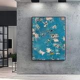 YANHUA Bild auf Leinwand Sommer Schwimmen Party Poster