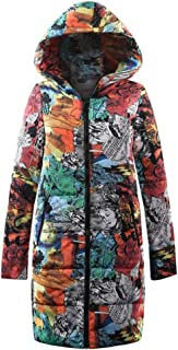 New Womens Parka Quilted Jacket Ladies Winter Long Down Outwear Hooded Coat Multiple Style
