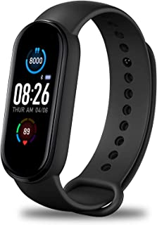 Fitness Tracker,Smart Watch,Heart Rate Monitor IP67 Waterproof Activity Tracker Pedometer, Blood...