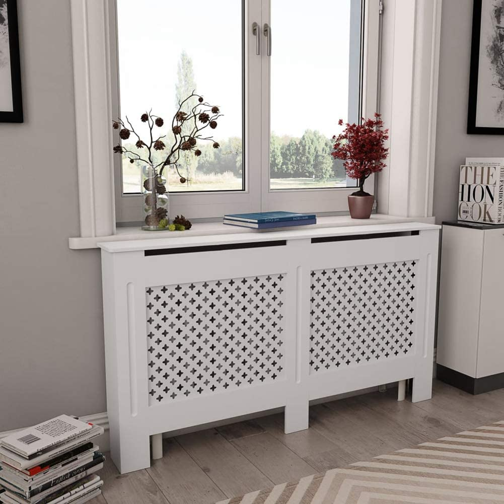 GOTOTOP Radiator Cover Heating Max Year-end annual account 65% OFF Cabinet Matte with Finish Addit a
