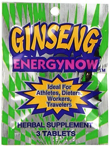 ENERGY NOW GINSENG HERBAL SUPPLEMENT 36 PACKS [Health and Beauty] by Energy Now Inc.