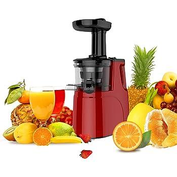 JAP Appliances SJ6188 - Extractor de zumo tipo slow juicer ...