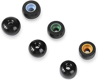 HUAYUWA 3 par öronspetsar minnesskum hörlurar fodral passar för Jabra Elite 65t / Active 65t / Sport, för Samsung Gear Ico...