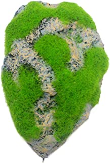 Galapara Floating Moss Rocks, Magic Floating Rock Resin Suspended Landscape Stone Pumice Aquarium Ornaments Decorations for Fish Tank Landscaping DIY Decoration, S/M/L