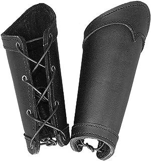Epic Armoury Paire de jambi/ères de jambe en acier Dark Warrior Prot/ège-jambes pour campagne en mousse LARP Moyen /Âge Viking Diff/érentes tailles