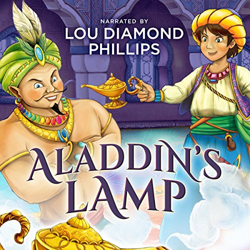Aladdin's Lamp: The Classics Read by Celebrities audiobook cover art