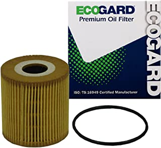 Ecogard X5315 Premium Cartridge Engine Filter for Conventional Oil Fits Volvo 2003-2009, V70 1999-2007, XC70 2003-2007, S60 2.4L 2001-2009, XC90 2.5L 2003-2006