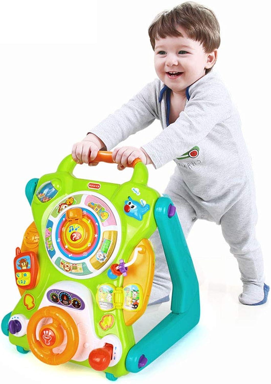 para barato Cajas de música Niños Mesa de Estudio de Rompecabezas Rompecabezas Rompecabezas Juego de múltiples Funciones Mesa de Juguete Infant Toddler Cochecito 9-18 Meses Mesa de Juguete Educativo Dar a los Niños Juguete  oferta de tienda