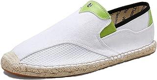 MAIAMY Hommes Chaussures décontractées Patchwork Chaussures en Toile élégantes Chaussures Plates légères et Douces pour Ch...