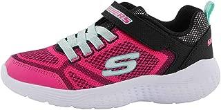 Skechers Kid's Snap Sprints Girls Cross Training Shoes Black/Multi 2 Little Kid
