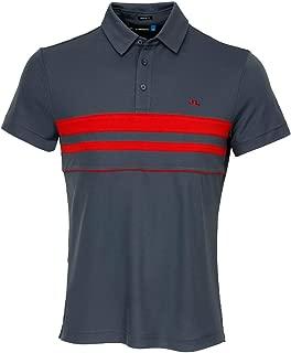 J.Lindeberg Men's Printed Polo Shirt