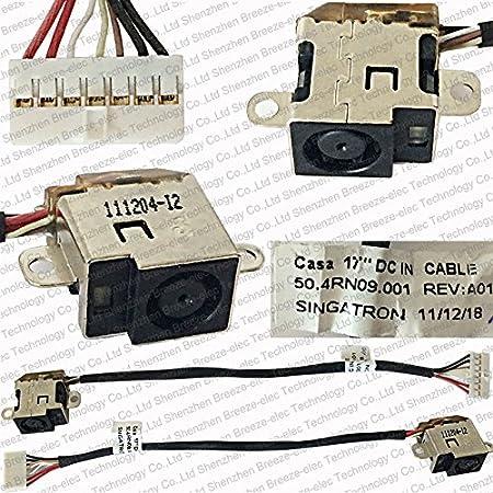 Amazon.com: Breezetech Laptop Replacement DC Power Jack Harness Socket Wire  Connector Charging Port Plug for HP Pavilion DV6-6000 DV7-6000 DV7-6B  DV7-6C DV7-6D 50.4RN09.001 639402-001: Computers & AccessoriesAmazon.com