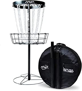 MVP Black Hole Pro 24-Chain Portable Disc Golf Basket Target & Accessories